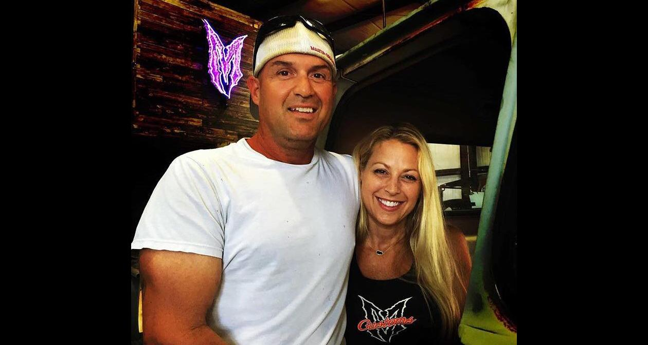 "Joe Martin with Amanda ""Mandi"" Martin"