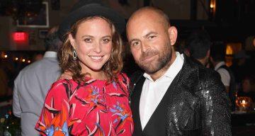 Josie Maran with David Belle
