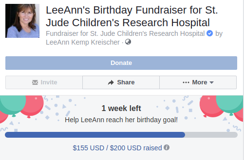 Fundraiser by LeeAnn