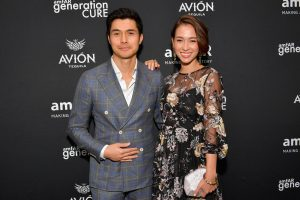 Henry Golding and Liv Lo