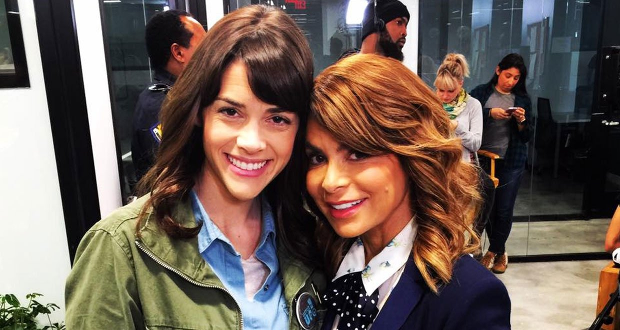 Margaret Anne Florence(left) and Paula Abdul(right) from A Sister's Secret