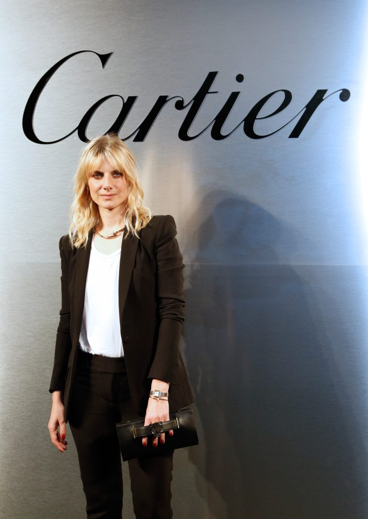 Melanie Laurent attends Cartier celebration of the launch of Santos de Cartier