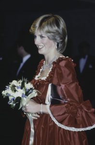 Princess Diana in Ball Gown