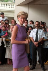 Princess Diana in Purple