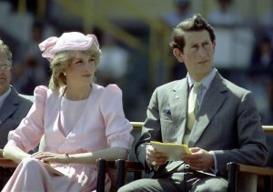 Princess Diana with Prince Charles