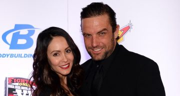 Roxanne Lavin and her husband, BMX rider and television host T.J. Lavin