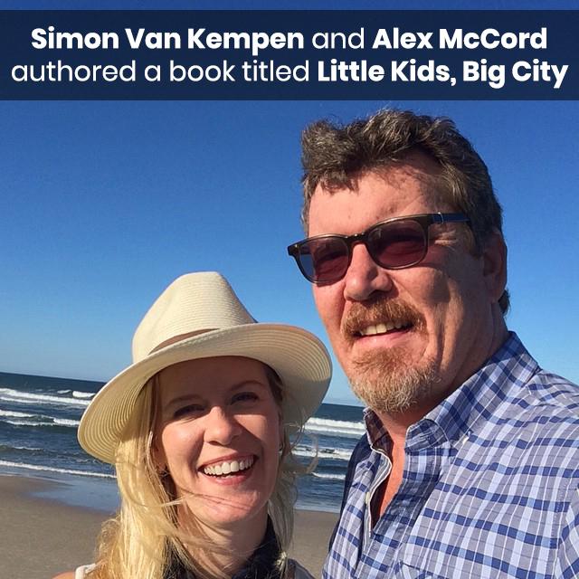 Simon Van Kempen and Alex McCord authored a book titled Little Kids, Big City