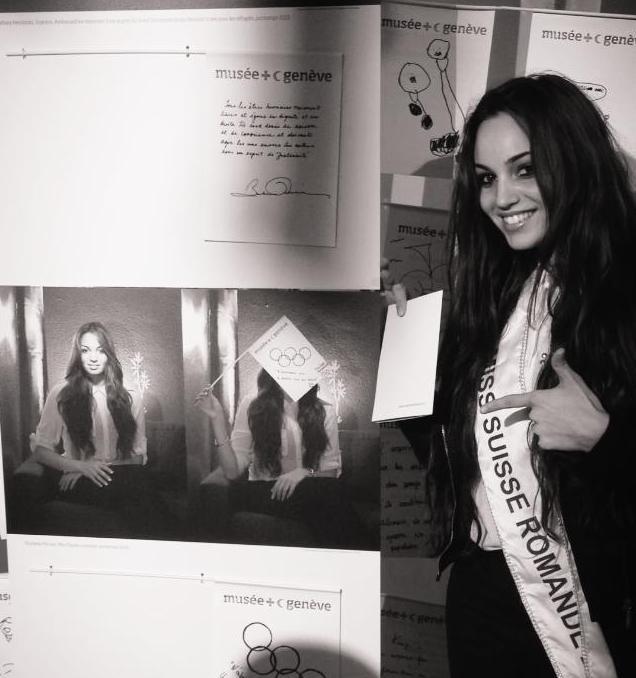 Souheila Yacoub Miss Suisse Romenade