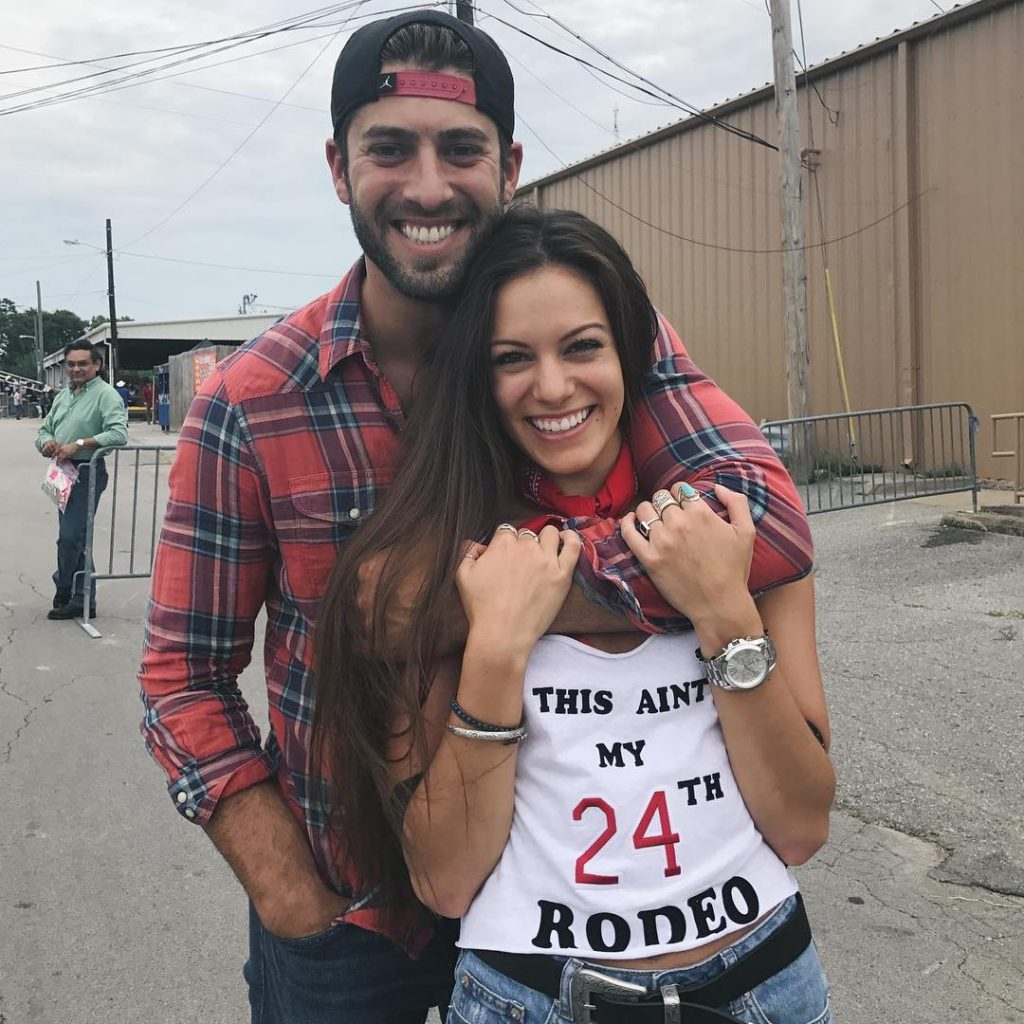 Taylor Monaco and husband, Michael Monaco