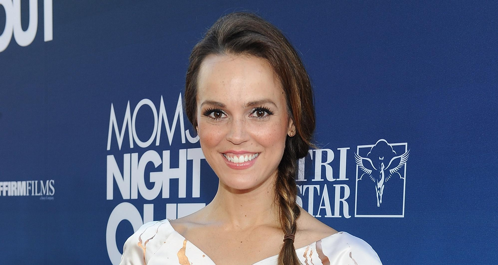 Actress Erin Cahill arrives at the premiere of TriStar Picture's 'Mom's Night Out' at TCL Chinese Theatre IMAX