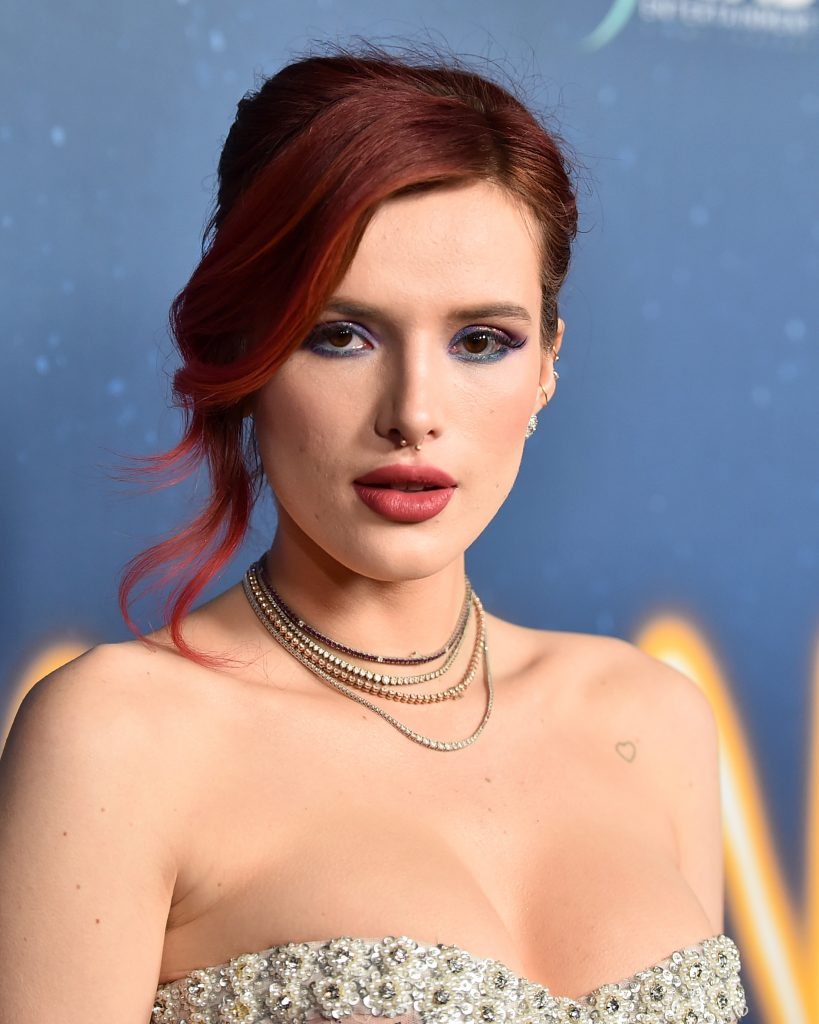 Bella Thorne attends Global Road Entertainment's world premiere of 'Midnight Sun' at ArcLight Hollywood