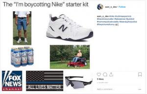 Boycotting Nike Campaign