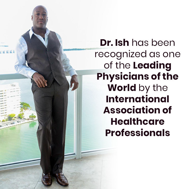 Dr Ish Major recognised as on of the Leading Physician