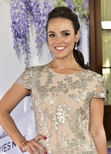 Erin Cahill attends the 2018 Hallmark Channel Summer TCA at a private residence on July 26, 2018 in Beverly Hills, California