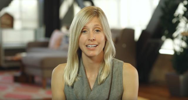 Katherine Krug, the mastermind behind BetterBack