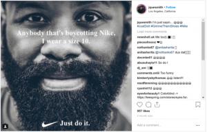 Nike Boycott Meme