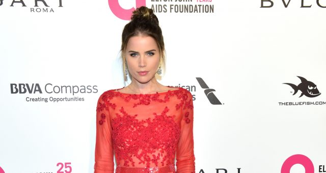 Sofia Mattsson attends the 26th annual Elton John AIDS Foundation's Academy Awards Viewing Party at The City of West Hollywood Park
