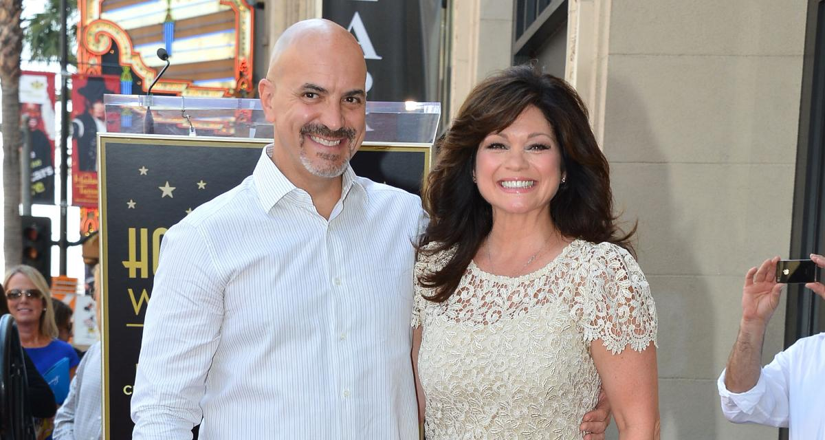 Valerie Bertinelli with Tom Vitale