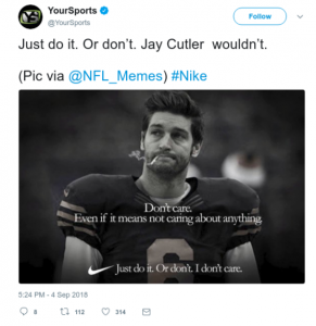 Twitter Meme on Colin Nike