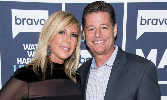 Vicki Gunvalson with Steve Lodge