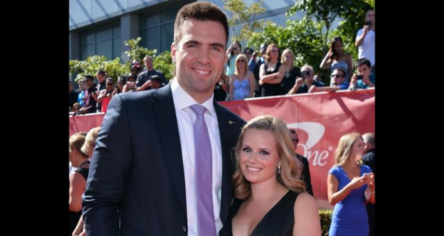 Joe Flacco's wife Dana Grady