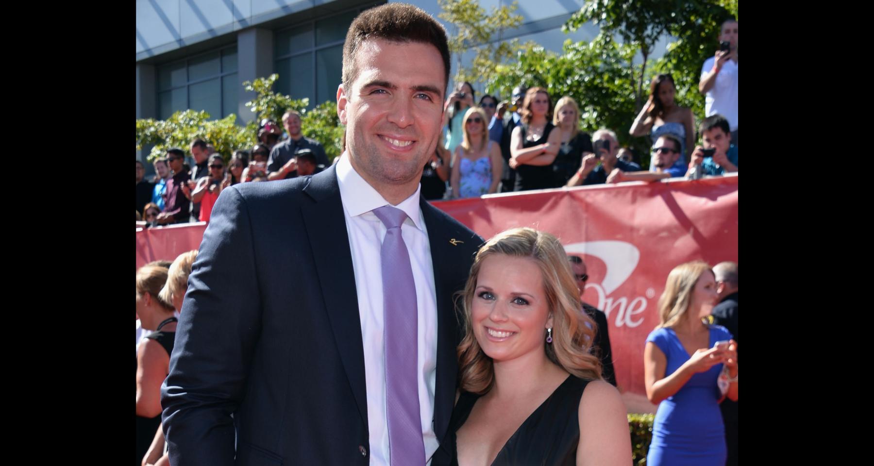 Joe Flacco's wife Dana Grady