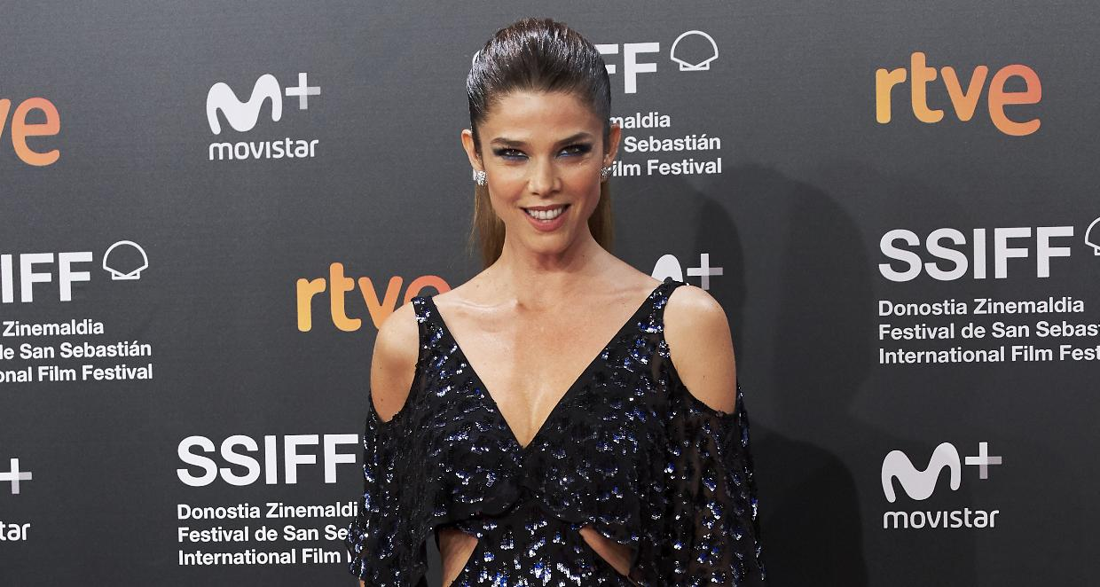 Juana Acosta attends the 'Gigantes' premiere during the 66th San Sebastian International Film Festival
