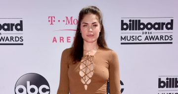Kelly Thiebaud attends the 2016 Billboard Music Awards at T-Mobile Arena
