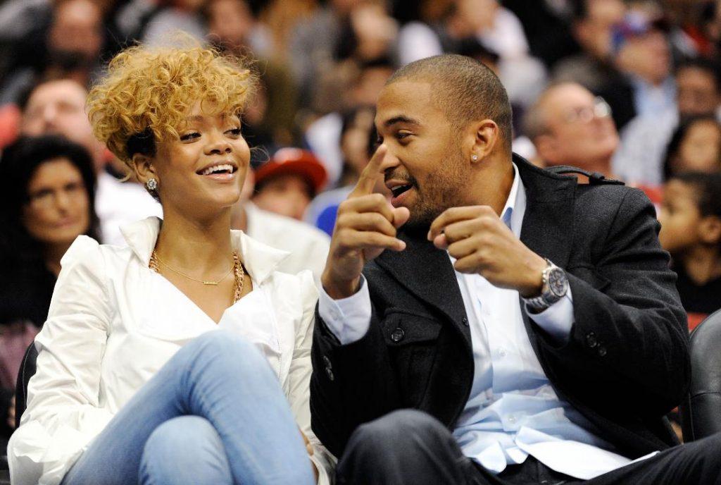 Matt Kemp and Rihanna Together
