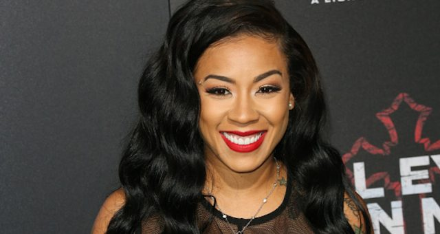 Niko Khale's Girlfriend, Keyshia Cole