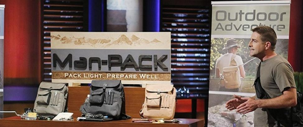 Man Pack's Presentation on Shark Tank