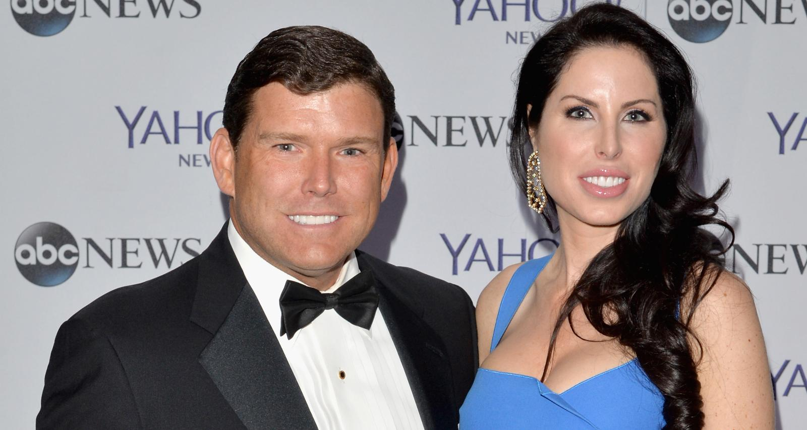 Bret Baier with his wife Amy Baier