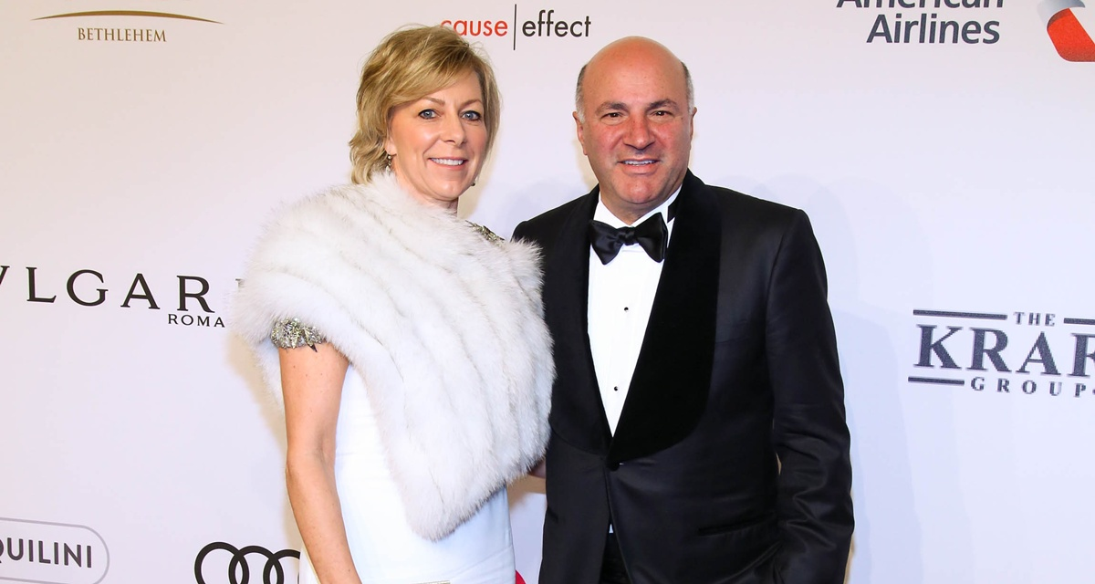 Linda and Kevin O'Leary