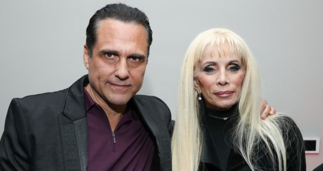 Victoria Gotti and Maurice Bernard in Lifetime Movies