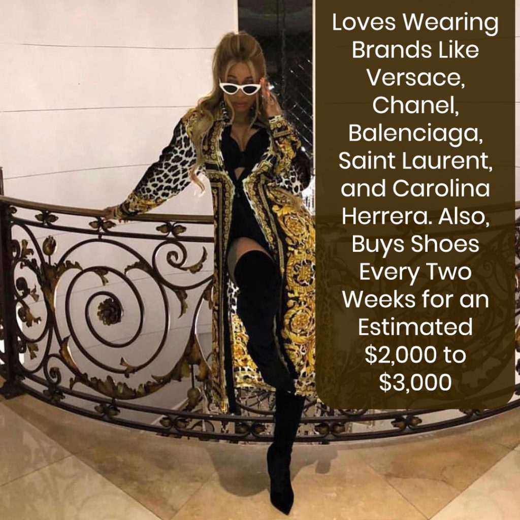 Cardi B's Love for Clothes & Shoes
