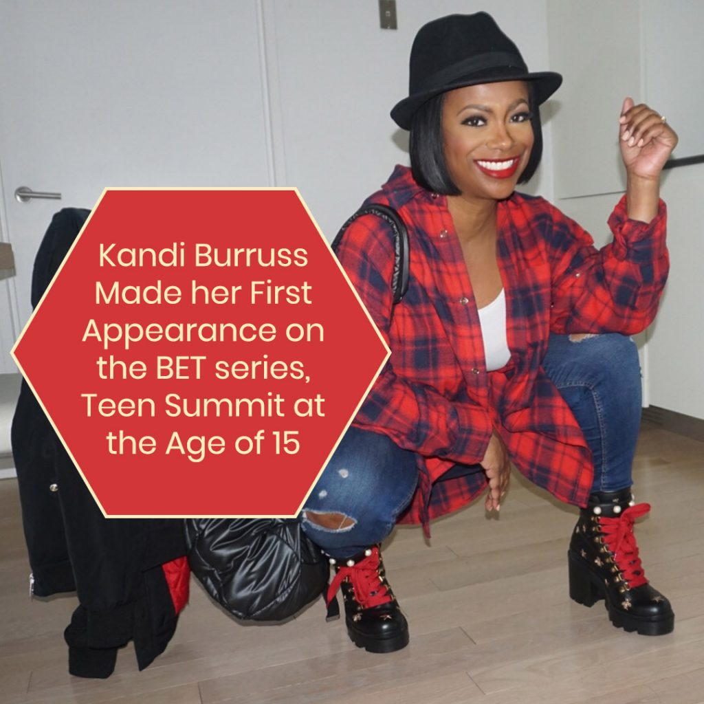 Kandi Burrus' First Appearance