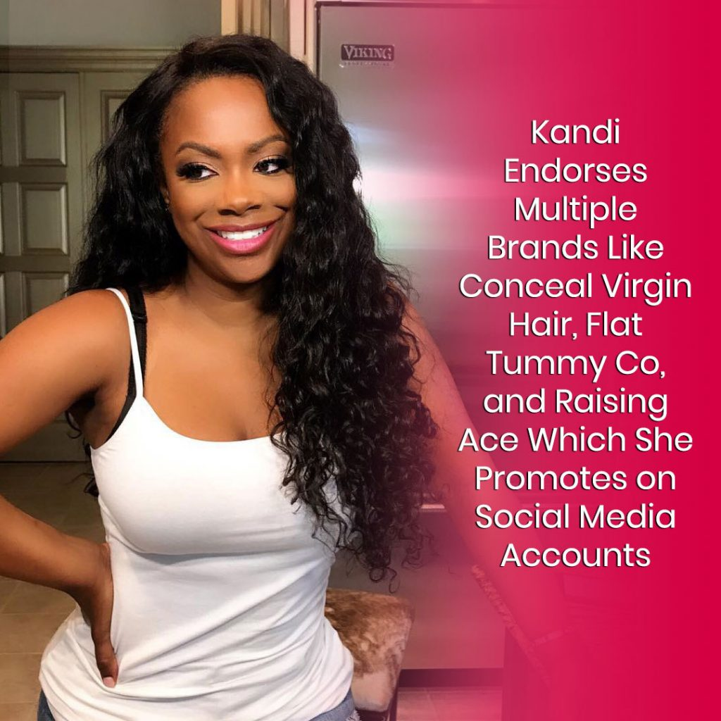 Kandi Burruss Endorsements