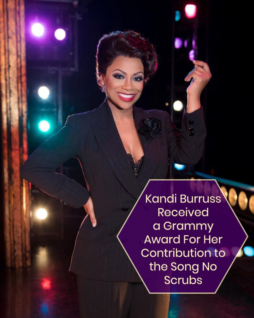 Kandi Burruss Received a Grammy Award