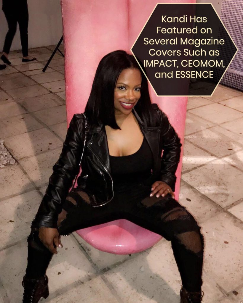 Kandi on Magazine Covers