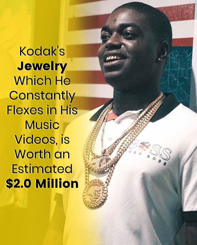 Kodak Black's Jewelry