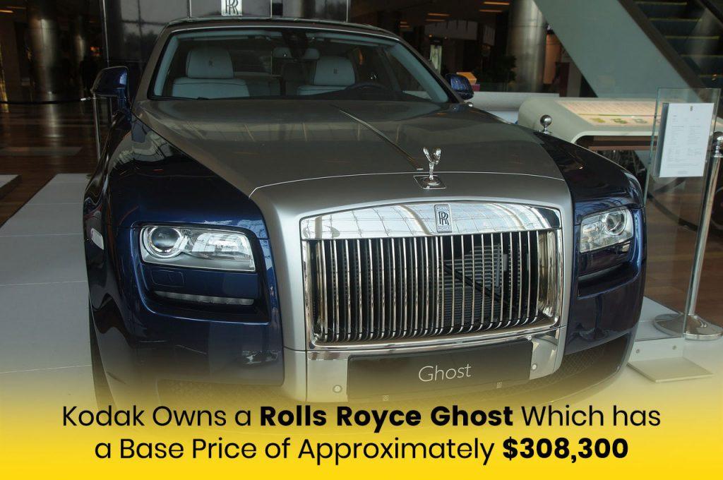 Kodak Black's Rolls Royce