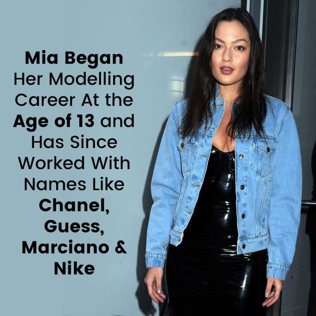 Mia Kang Modelling Career
