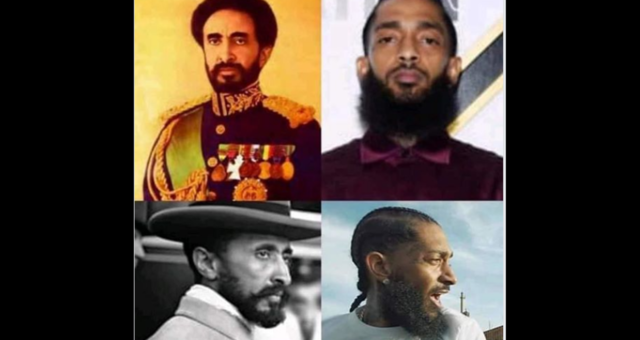 Fact Check: Was Nipsey Hussle Related to Emperor Haile Selassie?