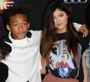 Jaden Smith and actress Kylie Jenner