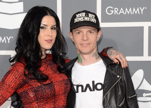 Kat Von D & Deadmau5 at the 55th Annual GRAMMY Awards