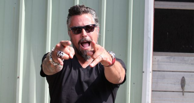 Richard Rawlings at Gas Monkey Garage (Credit: Discovery Channel/Misty Keasler/Redux)