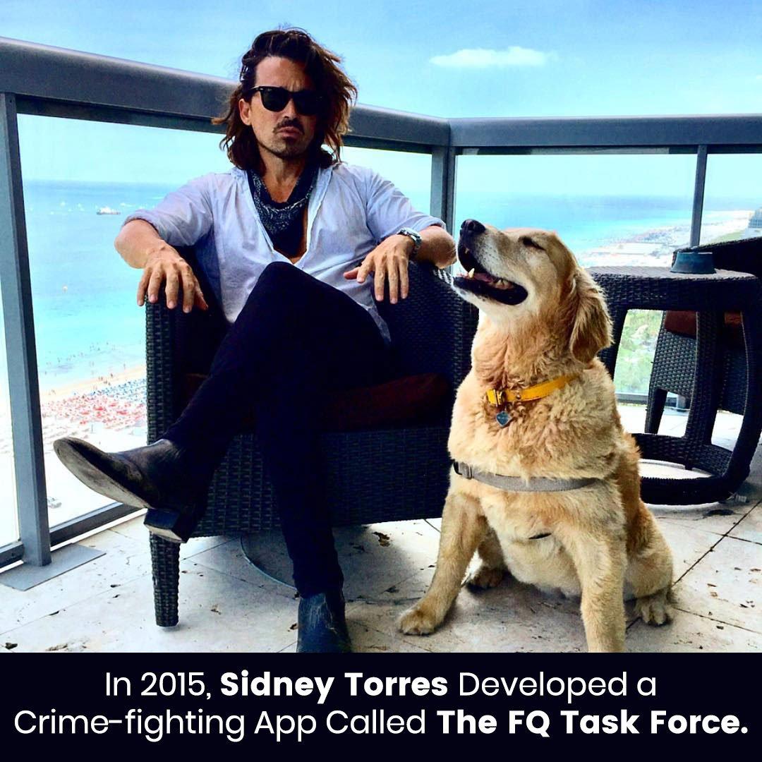 Sidney Torres Developed a Crime-fighting App