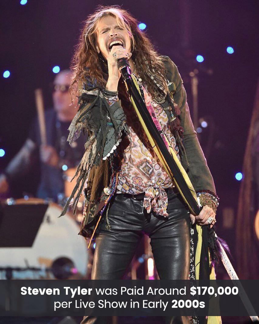 Steven Tyler Live Show earning