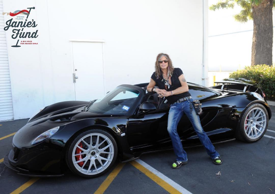 Steven Tyler auctions his Hennessey VenomGT to raise money for charity