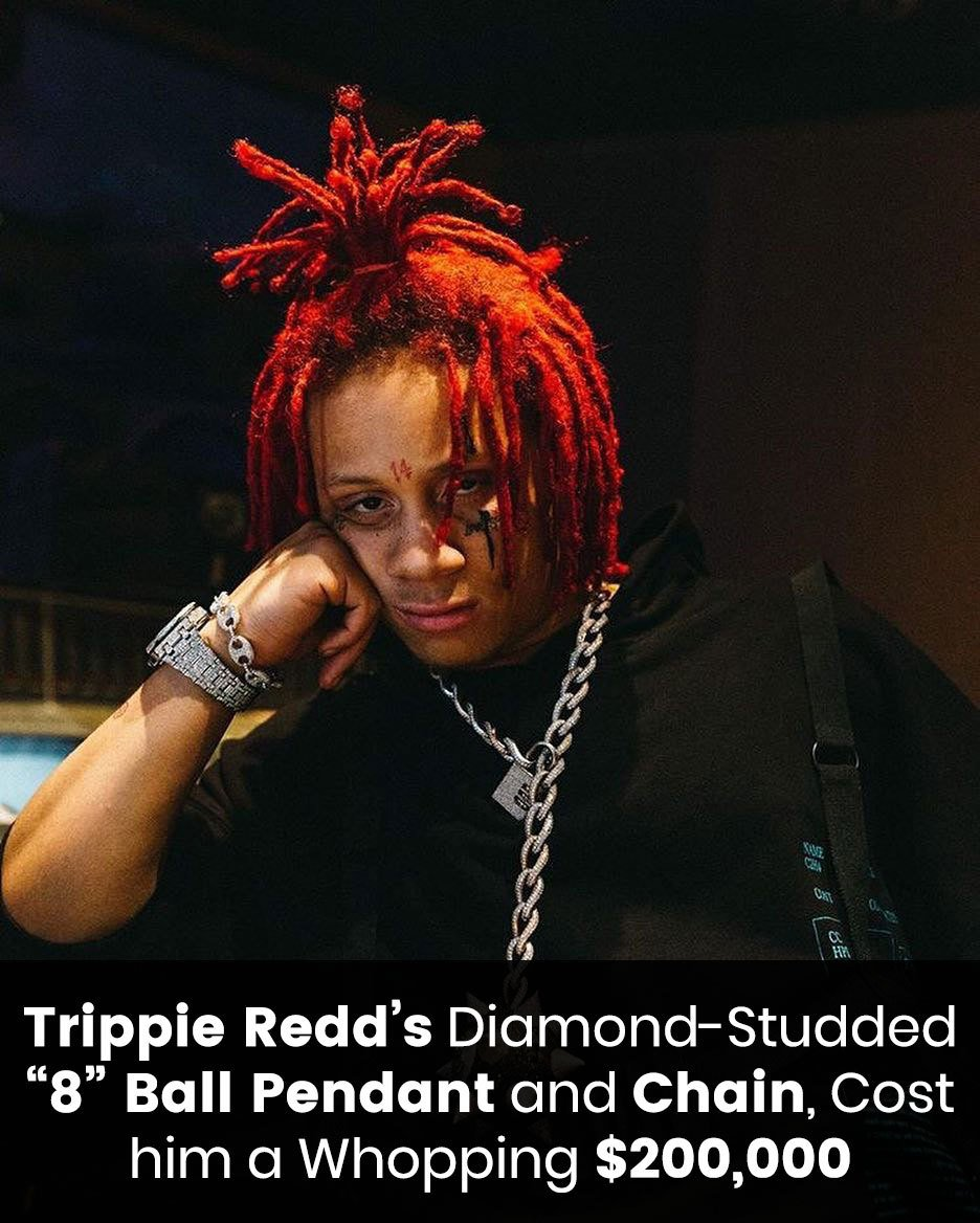 Trippie Redd's diamond-studded cost